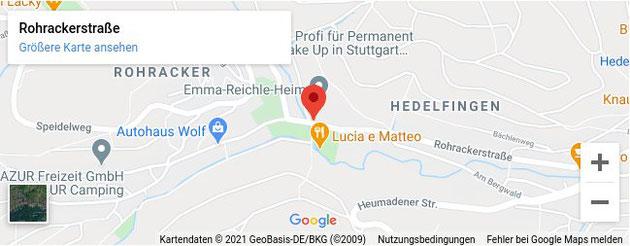 Kinesiologie Stuttgart Bettina Döring in den Google Maps