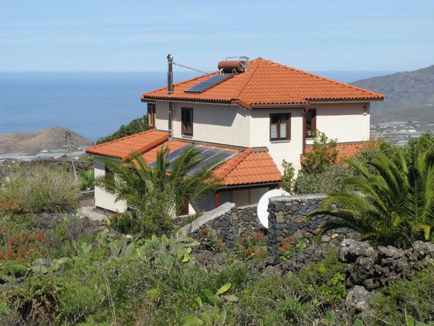 großes Ferienhaus auf La Palma sonnige Westseite zwischen El Paso und Los Llanos de Aridane