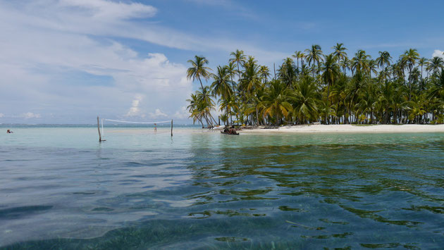 Archipelago de San Blas - this was our island for 3 days!