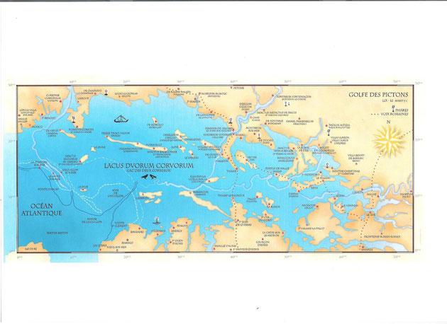 carte du lac des deux corbeaux