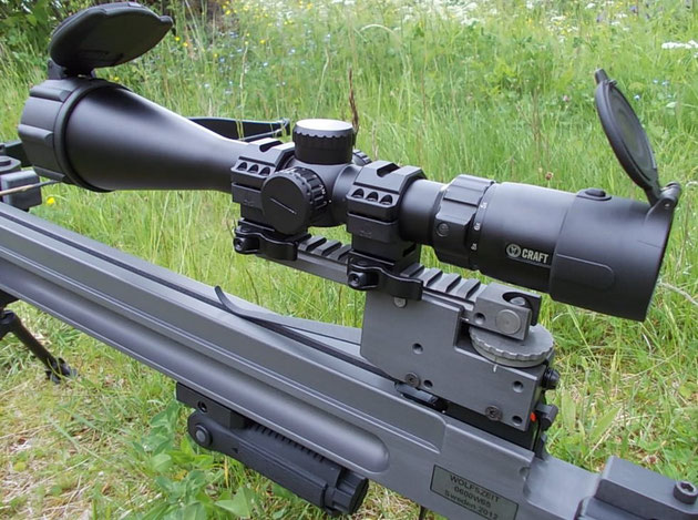 Zielfernrohr / CRAFT3 - 12x56 Spezial-Montagesockel