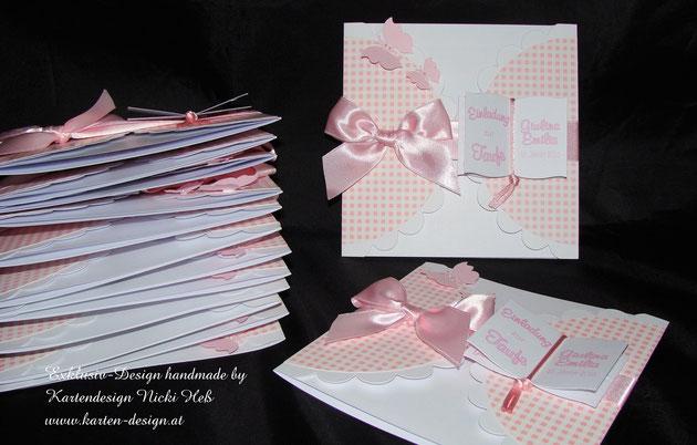 Taufe, Taufeinladungen, Einladungskarten, Unikate, Kartendesign, Hess, Heß, Kartenshop, Kartengalerie, Einladungen, Taufset, Tauffeier