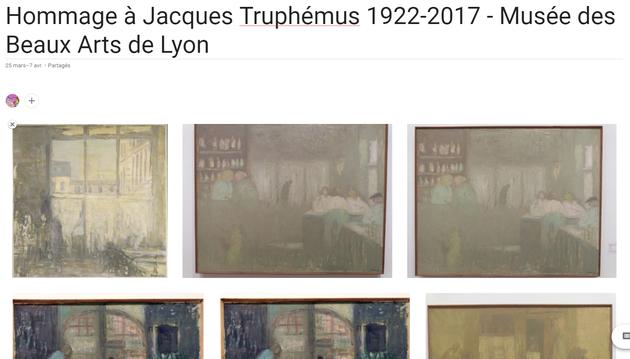 Hommage à Jacques Truphémus 1922-2017 - Musée des Beaux Art de Lyon