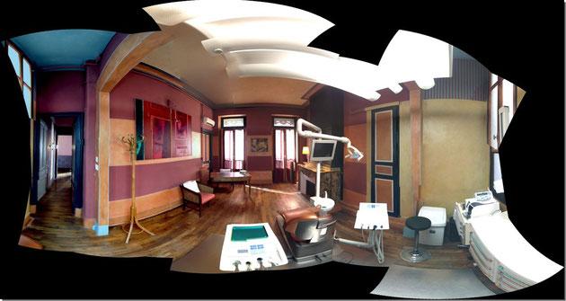 salle de soin - vue panoramique
