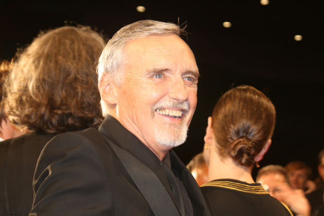 Dennis HOPPER - Festival de Cannes 2008 - Photo © Anik COUBLE