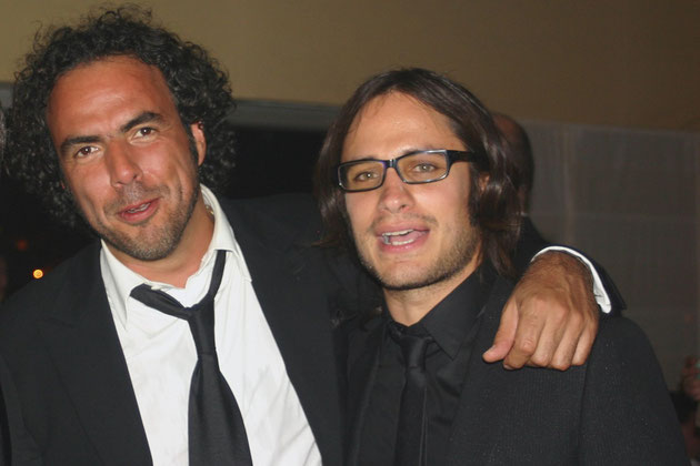 Alejandro Gonzalez INARRITU et Gaël GARCIA BERNAL - Festival de Cannes 2006 - Photo © Anik COUBLE