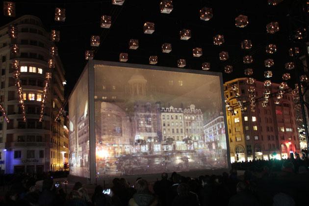 Show Case - Place des Jacobins - Fête des Lumières - Lyon - Déc 2013 - Photos © Anik COUBLE