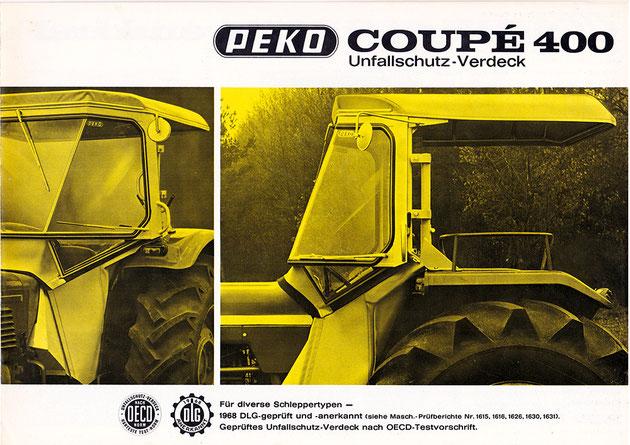 PEKO Coupé 400 Unfallschutz-Verdeck