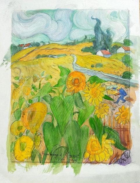 Hommage für Van Gogh