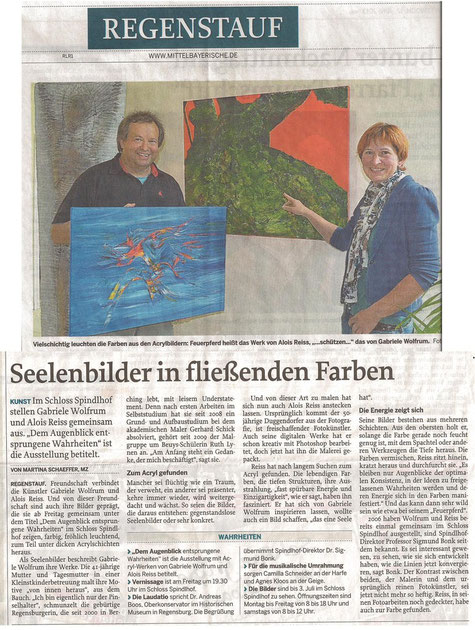 Mittelbayerische Zeitung vom 12.06.2013