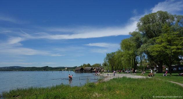 Unteruhldingen Hafen - Pfahlbauten