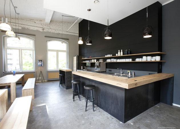 Schwarzes Mdf küche eiche schwarzes mdf mirko danckwerts möbelgestaltung
