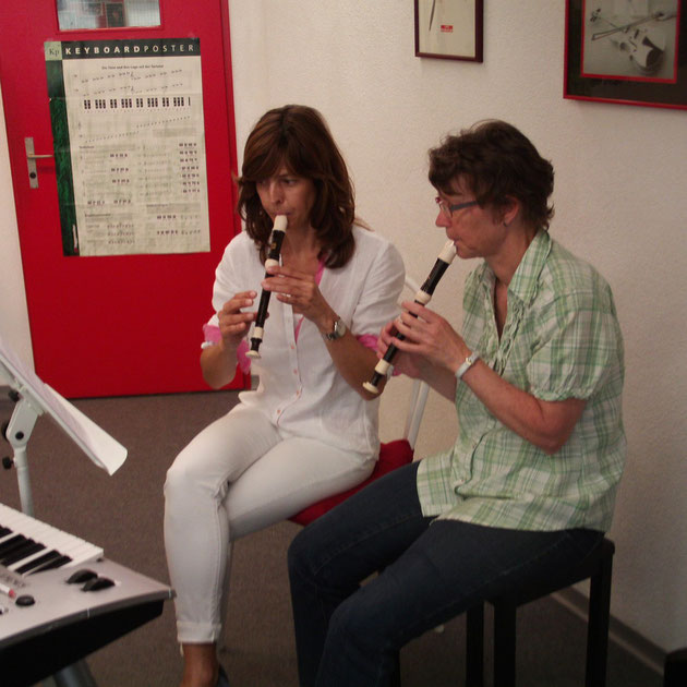 Blockflöten Musikunterricht