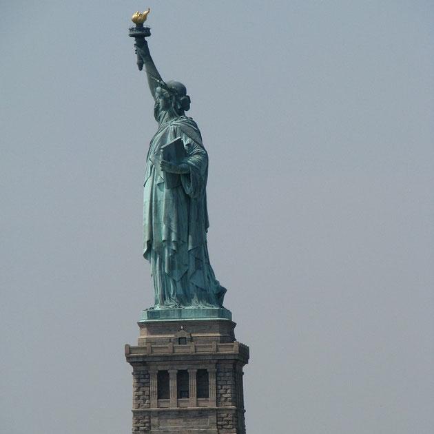 Die Liberty konnte nicht besichtigt werden, sie wurde repariert.