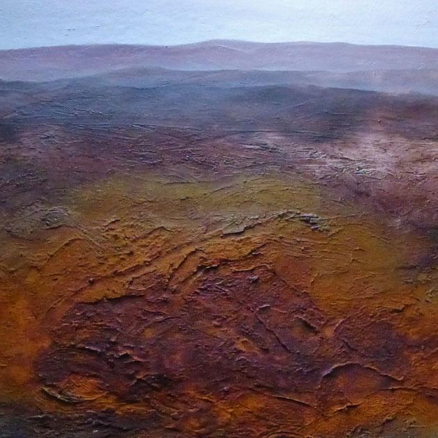 Afrika, Acryl auf Leinwand, 80x100 cm, 800€