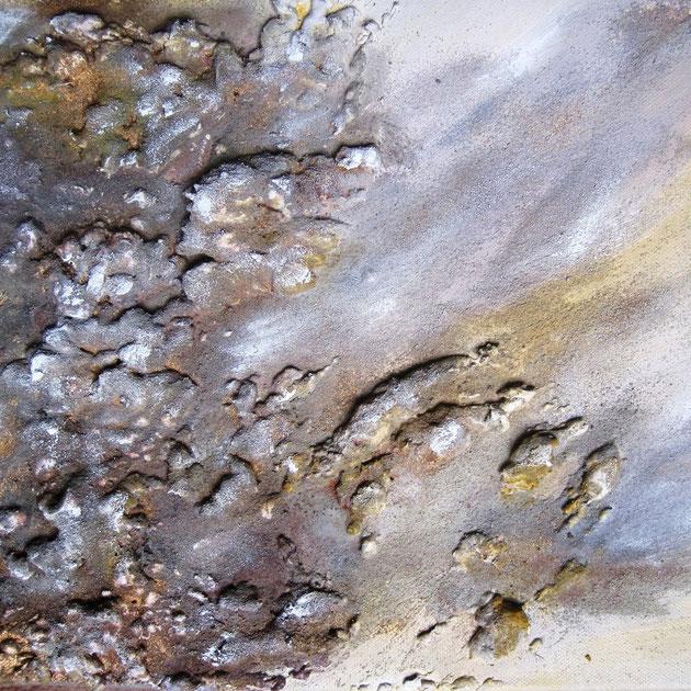 Wüste, Acryl auf Leinwand, Mischtechnik, 30x40 cm, 150€