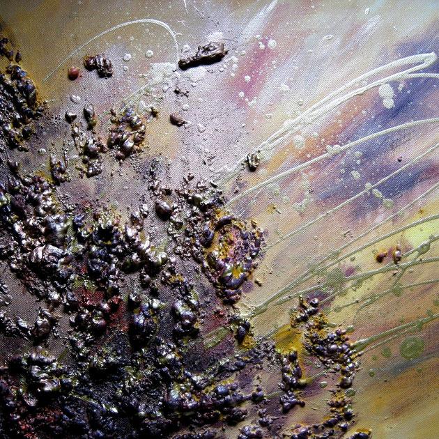 Wüste III, Acryl auf Leinwand, Mischtechnik, 30x40 cm, verkauft