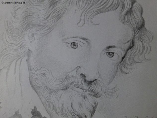 Rubens, Bleistiftskizze 2019