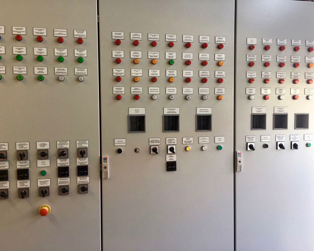 switch panel, switch box, thermal oil plant, russian inland ship