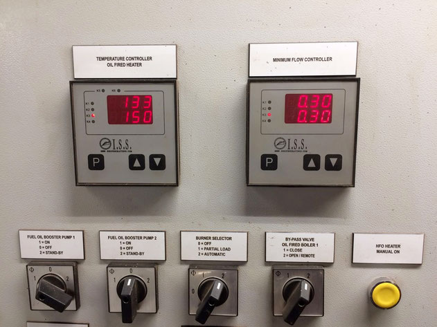 temperature controller, flow controller, electric controller, switch panel