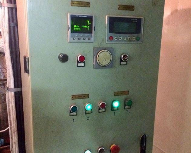 VAF instruments, switch panel, viscosity controller, electric controller