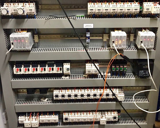 Schneider, relays, switch box, switch panel