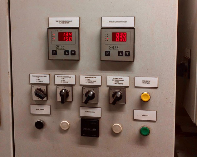 electric temperature controller, electric flow contoller, switch panel