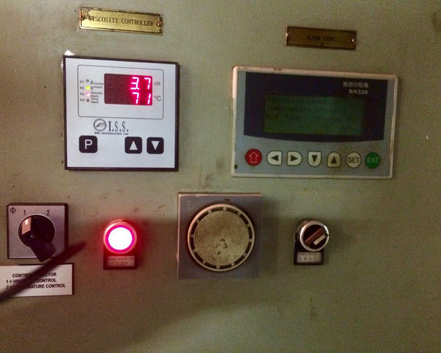 electric controller, replacement, switch panel, viscosity controller