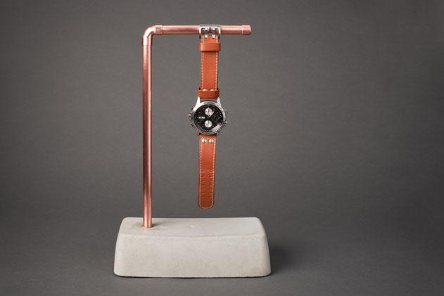 Beton Uhrenhalter