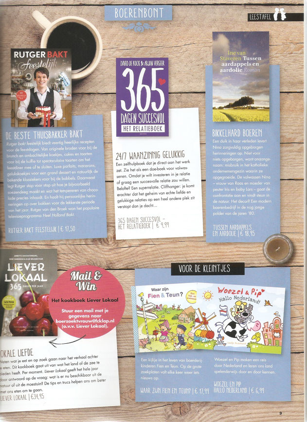 Boer zoekt vrouw magazine jaargang 2, nummer 1