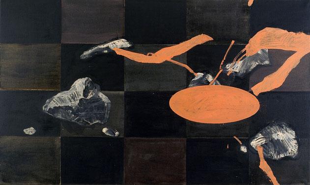 """Nippon Still-Life"", 2003, Öl auf Leinen, 120 x 200 cm"