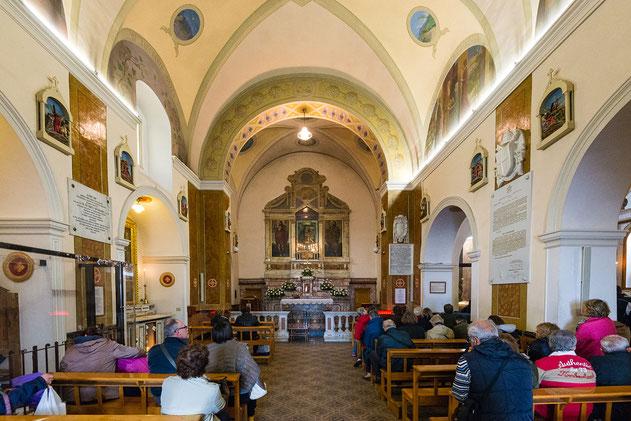 La vecchia chiesa di Santa Maria delle Grazie, come si presenta oggi