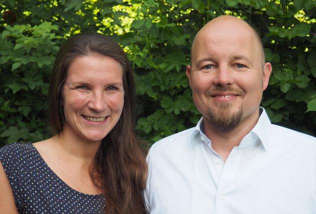Katrin Krüger und Michael Meier als Inhaber der Segeberg App