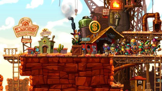 Beste Switch Spiele: SteamWorld Dig 2