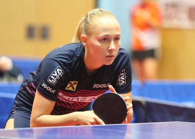 Ines Diendorfer Tischtennisspielerin Club: LINZ AG Froschberg - LZ Froschberg