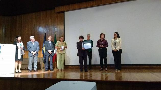 Reconocimiento a la RIIEE durante el XV Coloquio Panamericano de Investigación en Enfermería,  México 2016