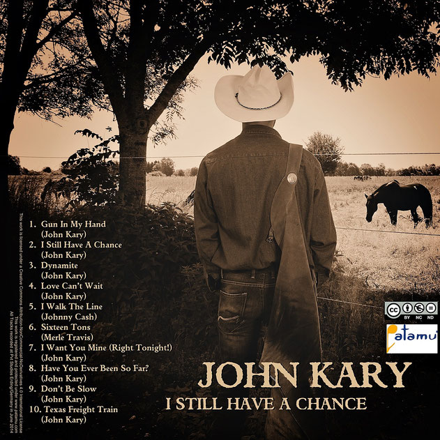 JOHN KARRY CD COVER DESIGN by picture&more FOTOGRAFIE international Iris Besemer, Fotostudio Hallbergmoos, Germany www.pictureandmore.com