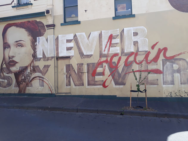 Graffiti Fitzroy Melbourne