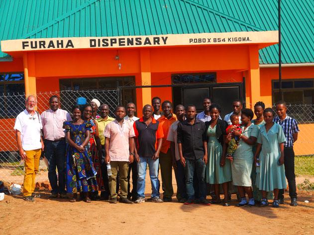 Treffen mit Verantwortlichen von Mlangala