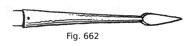 Fig. 662. Ringelrenneisen. Anfang 17. Jahrhundert.