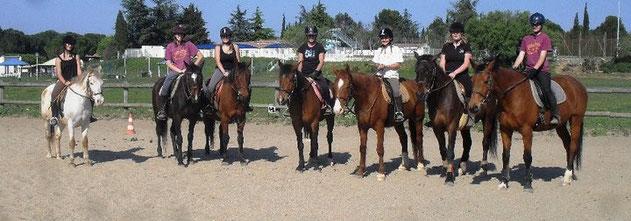 Cours à cheval