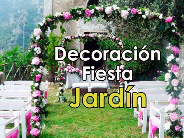 Decoración Fiesta En Jardín Decoracion Para Fiestas