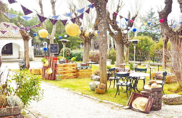 ideas para fiesta en jardin