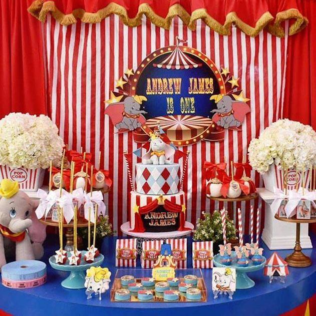 decoracion cumpleaños dumbo