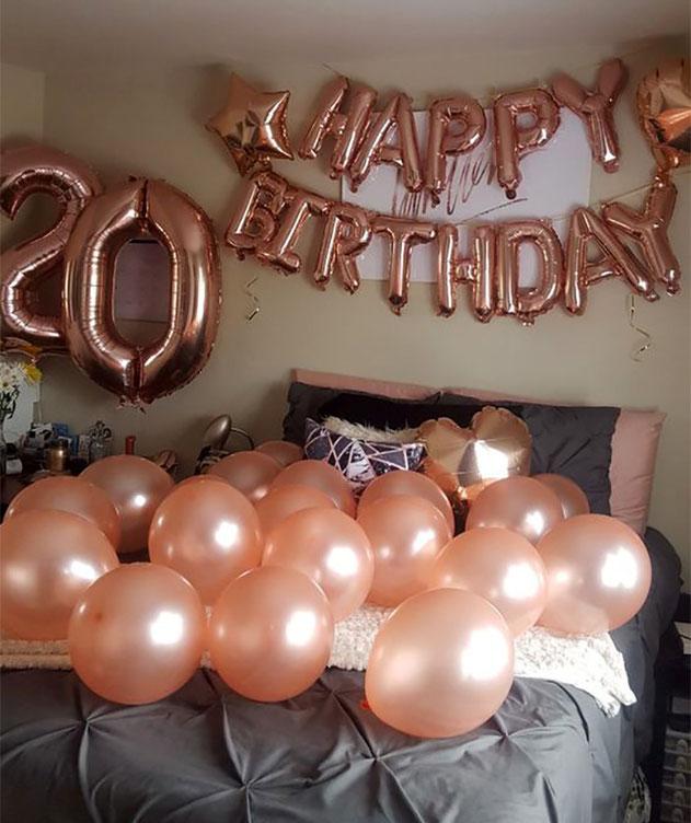 globos cumpleaños 20 años