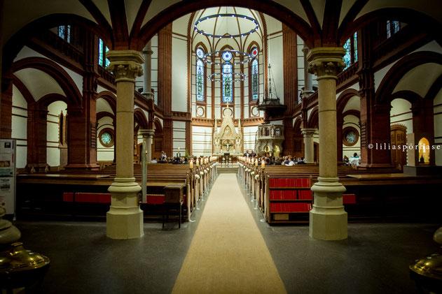 St. Gertrud Kirche Hamburg, Hochzeit, liliaspoerhase, Fotografie, Lilia Spörhase, Brautpaar, St. Gertrud
