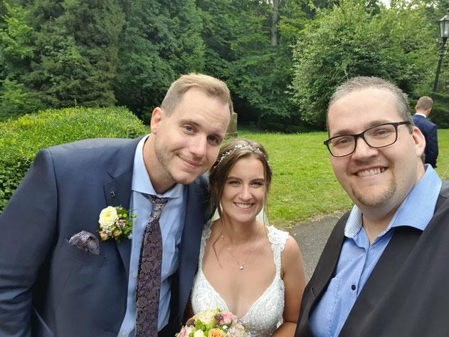Brautpaar im Schlß Langenzell