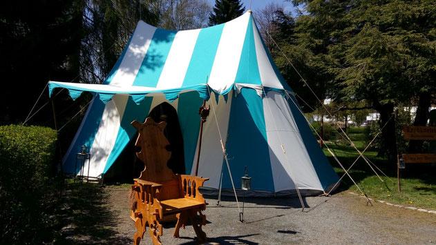 Seit 2019 mit neuem Zelt