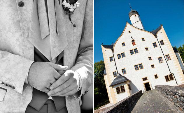 Wasserschloss Klaffenbach Hochzeitslocation
