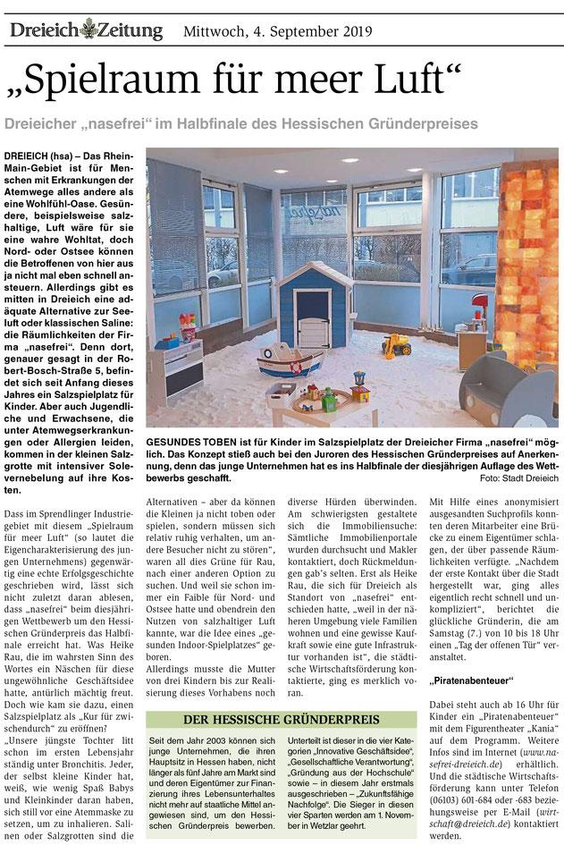 Dreieich Zeitung 04.09.2019